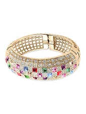 multi colored metal alloy bracelet -  online shopping for bracelets