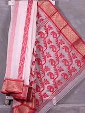Traditional Woven Paisley Pallu Resham Silk Saree - Ruplekha Fashion
