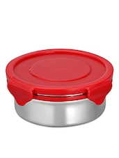 Red Lid Stainless Steel Food Container - DESEO