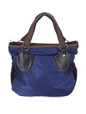Zipper Closure Nylon Handbag - Elligator