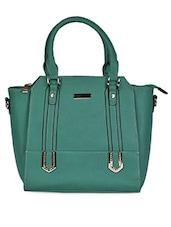 Green Leatherette Handbag - Coash