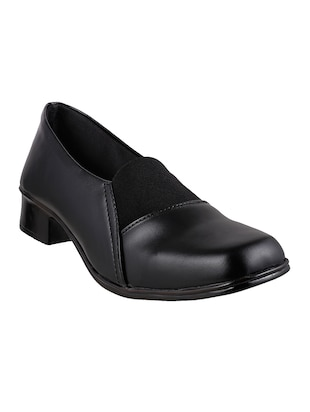 black leatherette casual shoe -  online shopping for formal shoes