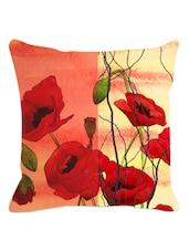 Arty Floral Cushion Cover - Leaf Designs
