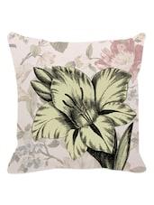 Floral Print Cushion Cover - Leaf Designs
