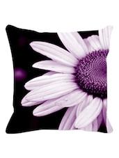 Purple Daisy Cushion Cover - Leaf Designs