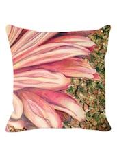 Multishade Flower Petals Cushion Cover - Leaf Designs