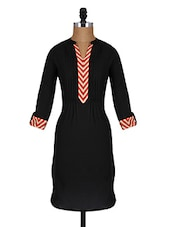 Roll Up Sleeves Pin Tucked Cotton Kurta - Aaboli