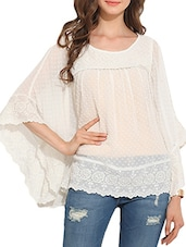 white  top -  online shopping for Tops