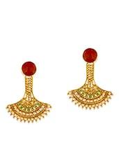 Multi Copper Drop  Earring - By