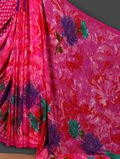 Dahlia Printed Art Silk Saree - Nanda Silk Mills