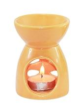 Orange Ceramic Aroma Oil Diffuser - Brahmz
