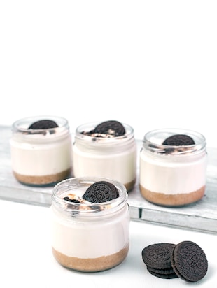 Mini dessert glass bowl jar (set of 4) - 350 ML