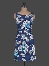 Floral Printed Sleeveless Cotton Dress - Harpa