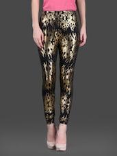 71198ac4cd7611 Printed polyknit spandex leggings - online shopping for Leggings. 25% off