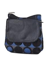 Black Dots Printed Leatherette Wallet - Baggit