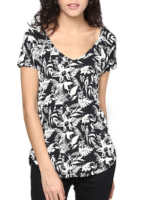 black color cotton top
