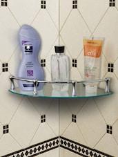 Chrome Plated Bathroom Shelf - Disha