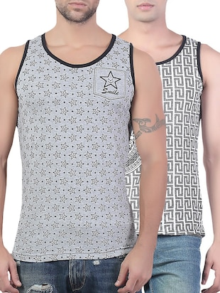 multi cotton vest
