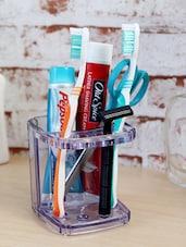 Elegant Plastic Toothbrush Holder - Disha