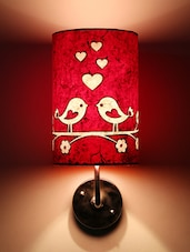 Red Love Birds Wall Lamp - Craftter