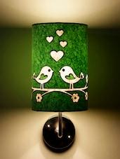 Green Love Birds Wall Lamp - Craftter