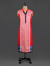 Multicolored Cotton Printed Kurti -  online shopping for kurtas