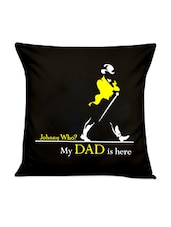"""""""Johnney Who?"""" Quoted Cushion Cover - Thinking Of You"""