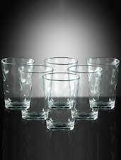 Pasabahce Space 208 cc Water Glasses - Set of 6 -  online shopping for Glass Sets