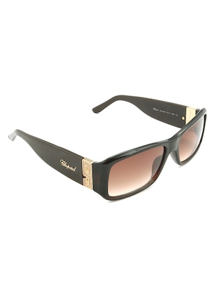 Chopard Women Rectangle Brown Full Frame Acetate Sunglass Chopard-SCH040S-09NZ - 11404832 - Standard Image - 2