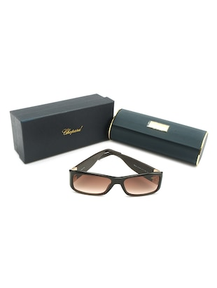 Chopard Women Rectangle Brown Full Frame Acetate Sunglass Chopard-SCH040S-09NZ - 11404832 - Standard Image - 5