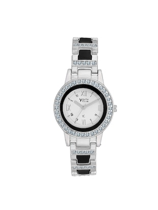embellished round dial watch -  online shopping for Analog watches