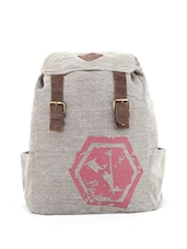 grey canvas regular backpack -  online shopping for backpacks
