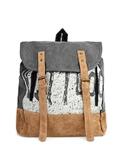 grey canvas backpack -  online shopping for backpacks