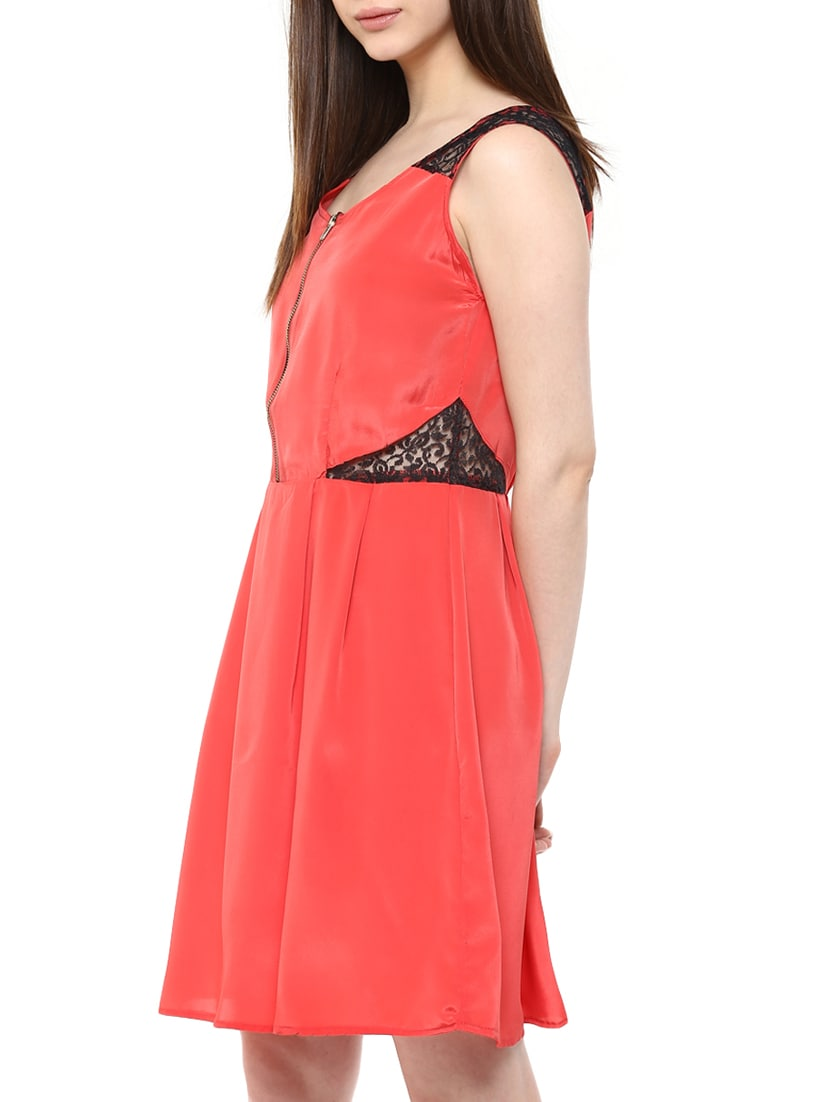 Buy Pink Fit   Flare Dress by Mayra - Online shopping for Dresses in India   769fe6867