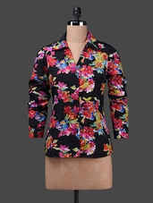 Long Sleeves Floral Print Shirt - WISSTLER