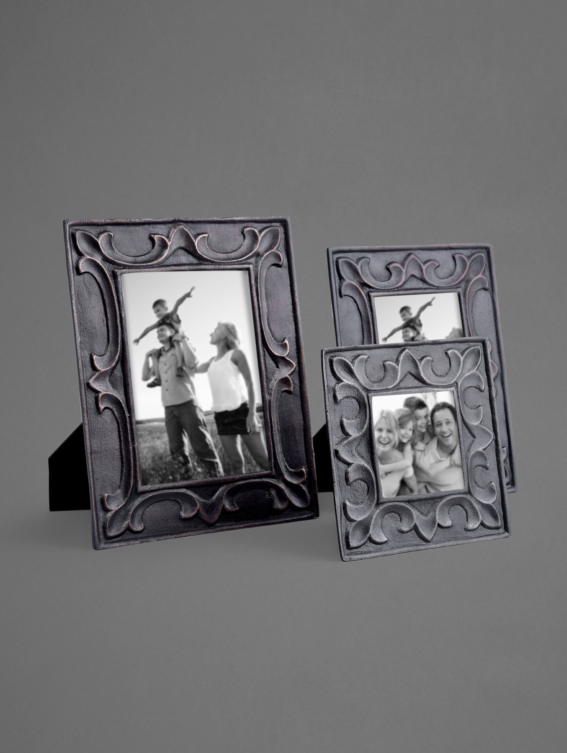 Aluminium Photo Frame With Copper Finish - Indian Reverie
