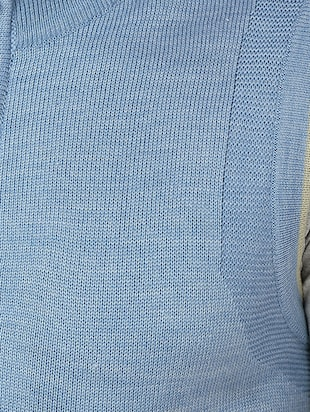blue acrylic pullover - 11499056 - Standard Image - 5