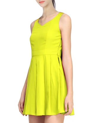 yellow skater dress - 11519474 - Standard Image - 2