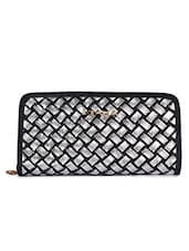 Silver Synthetic Fabric Wallet - By - 1152471