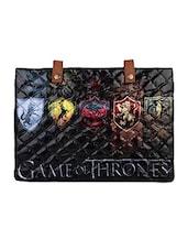 Black Game Of Thrones Flex Laptop Sleeve - THE BACKBENCHER