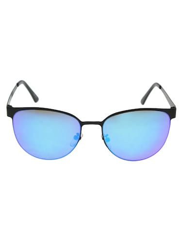 452961d184 Buy David Blake Blue Wayfarer Mirrored Uv Protection Sunglass by David Blake  - Online shopping for Sunglasses in India