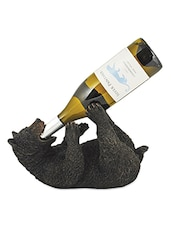 Cub Polyresin Bottle Holder - True Vino