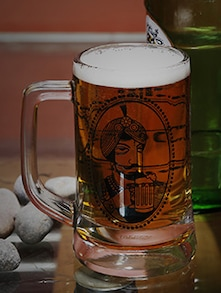 Made in india tahgbg000010 Raja Print Beer Mug - Best Price
