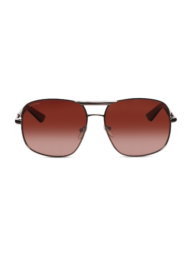 c906f9557be Buy Trendy Oversized Animal Print Brown Sunglasses by Joe Black - Online  shopping for Sunglasses in India