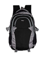 grey and black polyester backpack -  online shopping for Backpacks