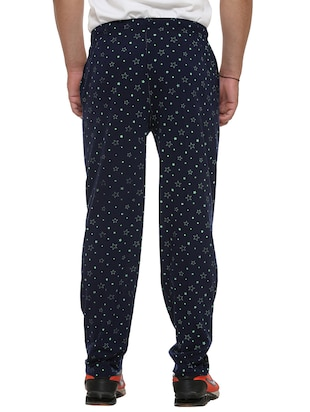 multi colored cotton  ankle length track pant - 11677985 - Standard Image - 5