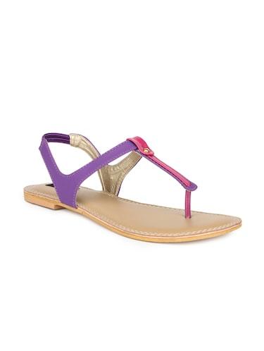 d614ec6733d4 Buy Purple Pvc Back Strap Sandals by Yepme - Online shopping for ...