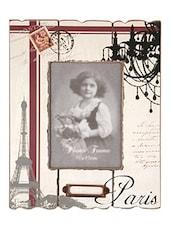 Beige Vintage Plastic Photo Frame - Innova By HC