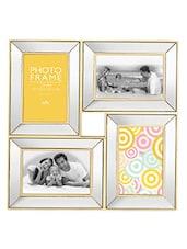 Elegant Mirror Photo Frame With 4 Slots - Innova