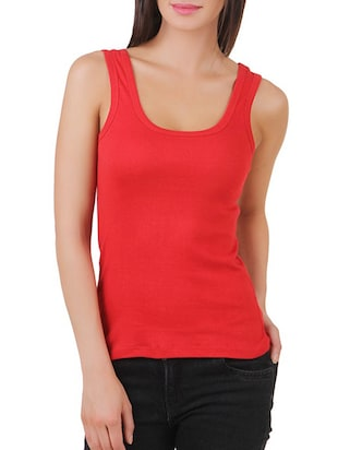 multi colored cotton tank tee set of 5 - 11707304 - Standard Image - 2